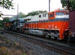 NS 8105, 8033, BNSF 5492